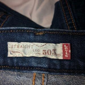 Levi's Jeans - Levi's 505 straight leg jeans size 12